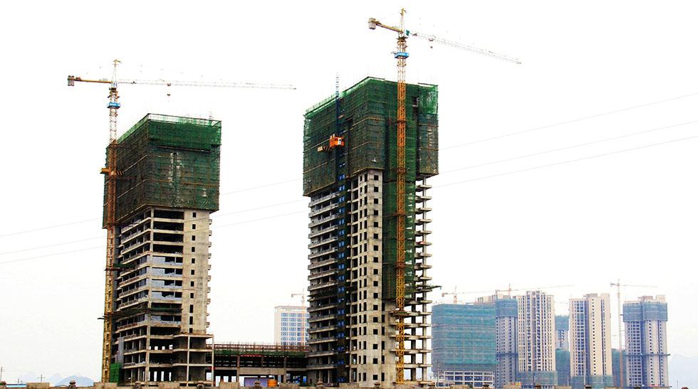 桂林建设大厦·中国建筑业AAA级安全文明工地